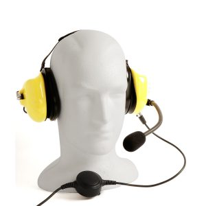 aviation style headset